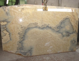 Onyx Cappuccino Slabs