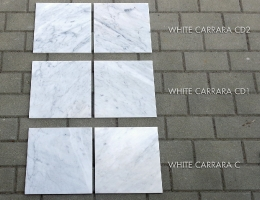 White Carrara Tiles